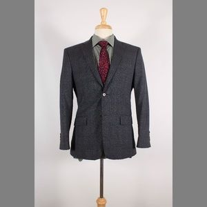 John Varvatos 38S Gray Sport Coat B216